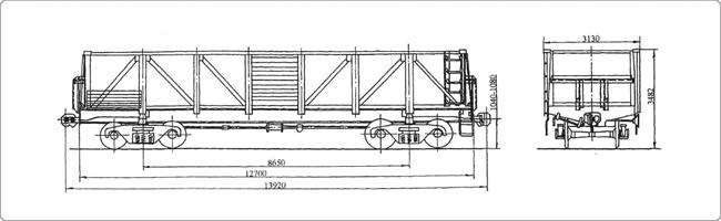 4-осный вагон для