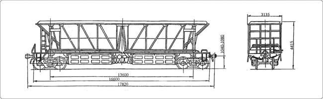 4-осный вагон-хоппер для