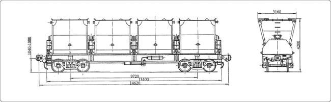 Виды вагонов для нефтебитума и
